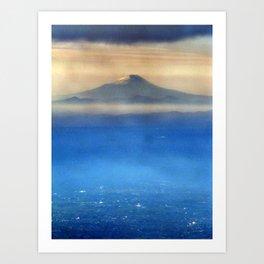 Fuji-san (富士山) original version Art Print