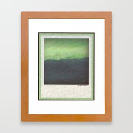 Spring Storm- High Olympics Framed Art Print