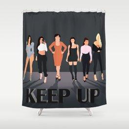Keep Up Shower Curtain