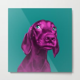 The Dogs: Guy 3 Metal Print