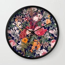 Magical Garden - III Wall Clock