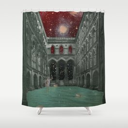 atmosphere 30 · Electric Requiem Shower Curtain