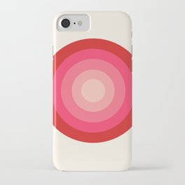 Keepin' on - 70's style retro vibes throwback minimal 1970s art decor gifts iPhone Case