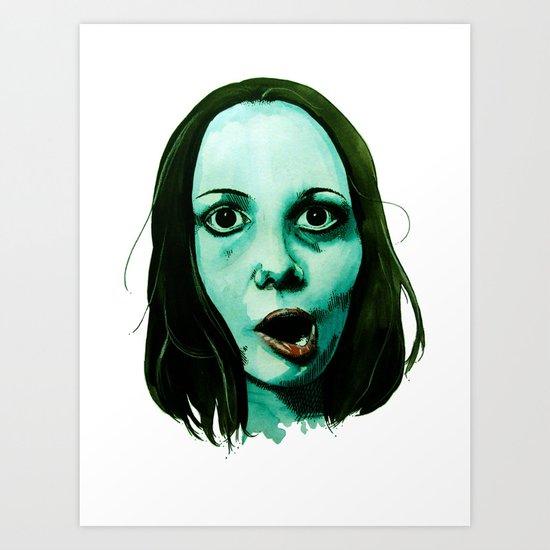 Nomnomnomnom Art Print