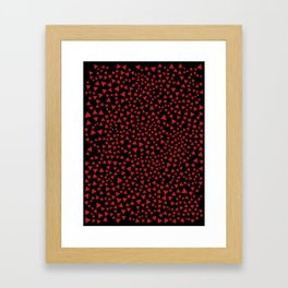 RED TRI Framed Art Print
