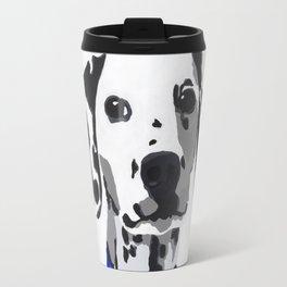 Winnie in blue Travel Mug