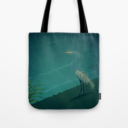 Camouflage: The Crane Tote Bag