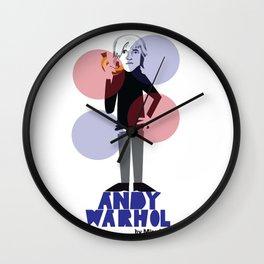 Warhol Wall Clock