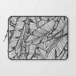 Black & White Jungle Laptop Sleeve
