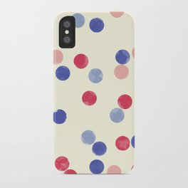 WATERCOLOR CONFETTI iPhone Case