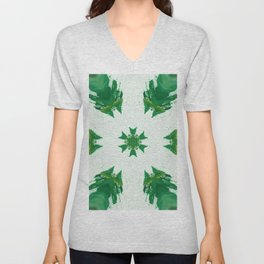 evergreen eaves Unisex V-Neck