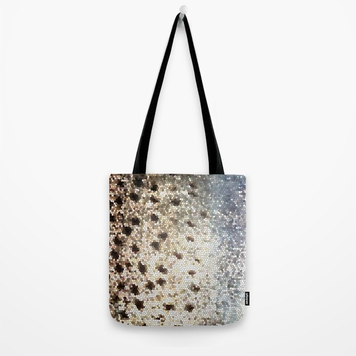 Trout Scales Tote Bag