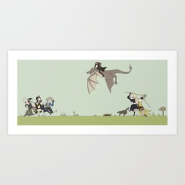 Fire Emblem Awakening Dumb Sons Art Print