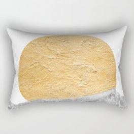 Modern Abstract - Sun and Mountains Rectangular Pillow