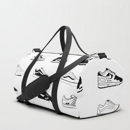 Sneakers White Duffle Bag