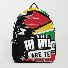 The Voices in my Head are calling  guyana Backpack
