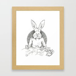 LilBunnyFooFoo Framed Art Print