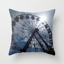 Fair Days Throw Pillow