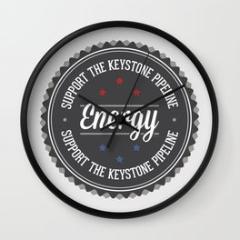 Support The Keystone Pipeline Wall Clock