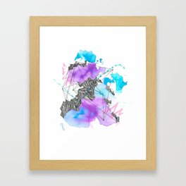 When the smoke clears #1 Framed Art Print