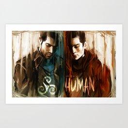 Derek & Stiles Art Print