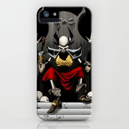 Skeletal Noble iPhone Case