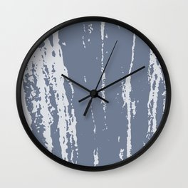 Scratched Paint Wall Clock