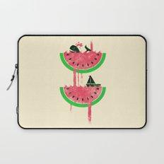 Watermelon falls Final Laptop Sleeve