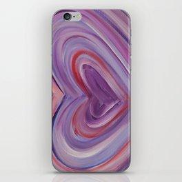 Heart Love Portal  iPhone Skin