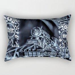 Runaway Train - Graphic 3 Rectangular Pillow