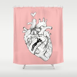 Scar Shower Curtain