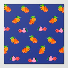 Jambu I (Wax Apple) - Singapore Tropical Fruits Series Canvas Print