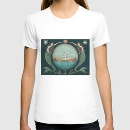 Sirens of the Sea by Donna Atkins T-shirt