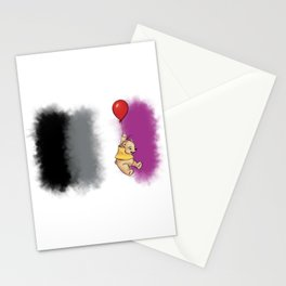 Pride Bear Asexual Stationery Cards