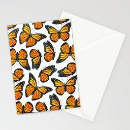 Monarch Butterfly Pattern Stationery Cards