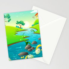 River of Chiller Stationery Cards