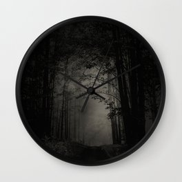 SEARCHING FOR THE LIGHT Wall Clock