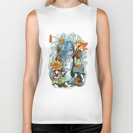 Make Art Not War Biker Tank