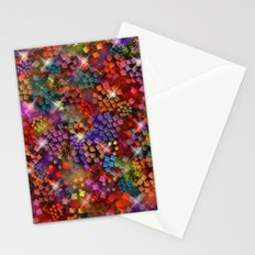 Stained Glass look Series 3 Stationery Cards