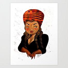 Mother Africa Art Print