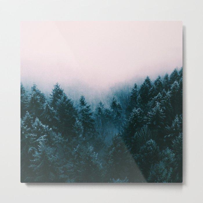 Pastel woods Metal Print