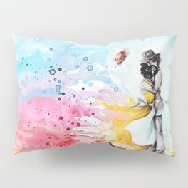 """By the cliff"" Pillow Sham"