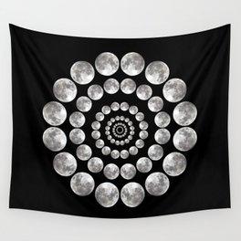Moon Mandala Wall Tapestry