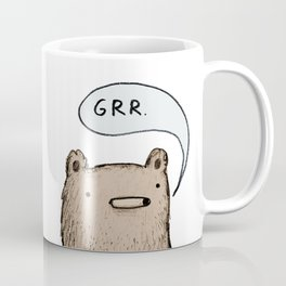 Growling Bear Coffee Mug