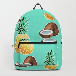 Pineapples and Coconuts Backpack