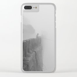 The fog-catcher Clear iPhone Case