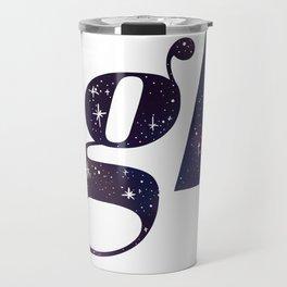The Night Court Galaxy Design White Travel Mug