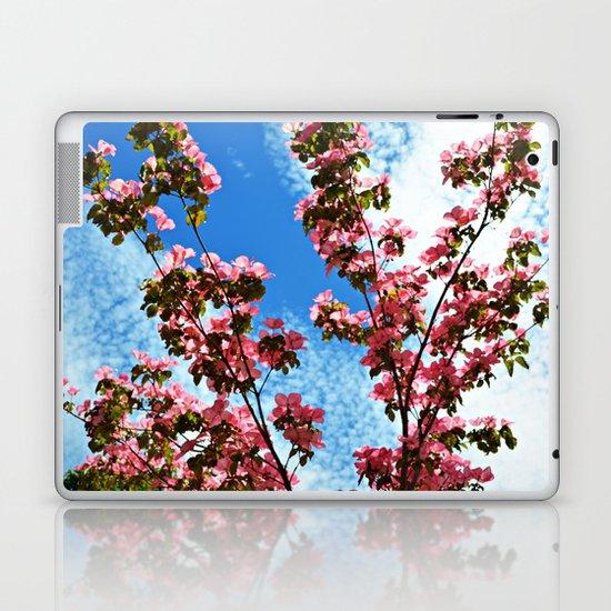 Sky/Flowers Laptop & iPad Skin