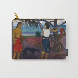 Under the Pandanus II by Paul Gauguin Carry-All Pouch