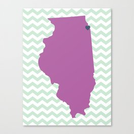 Chicago, Illinois Canvas Print